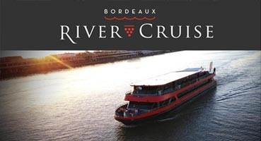 digital inflight campaign cruise Bordeaux river