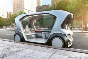 bosch ces 2019 autonomous vehicule autonome pod tech self driving car
