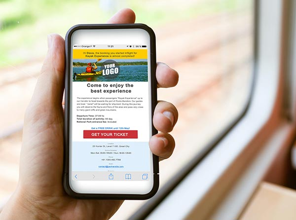 Engage even more travelers with call to action