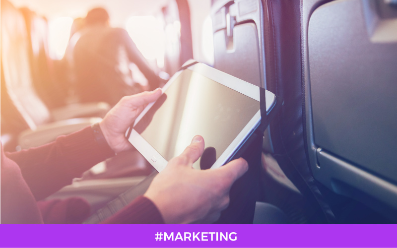 Inflight promotions: how to communicate with passengers onboard?