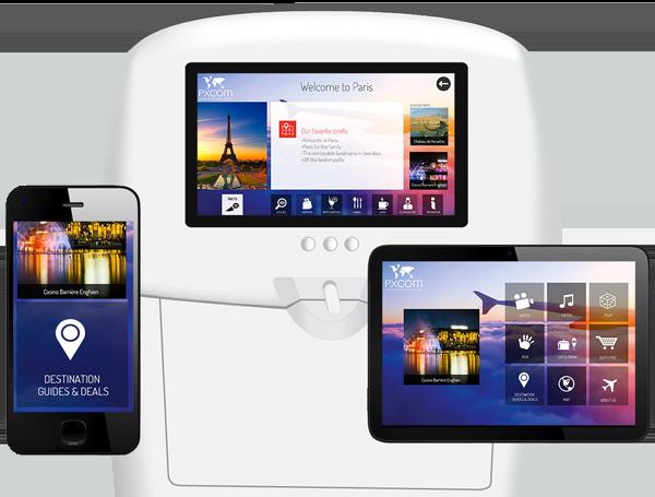 digital marketing con seatback screens, IFE and mobiles