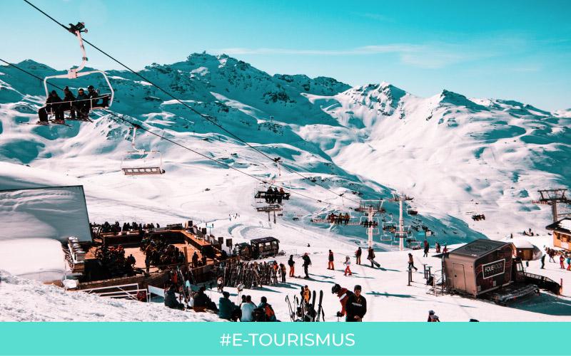 Skiorte und Marketing: wie unterhalten Sie Winterurlauber?